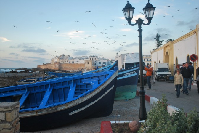 Essaouira, Morocco. a beautiful coastal city.